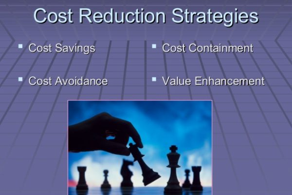 Strategies for Reducing Operating Costs